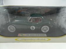 1:18 Signature Models #18107 1949 Jaguar XK 120 Racing #6 Green Rarity §