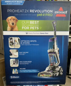 BISSELL ProHeat 2X Revolution Pet Pro Plus Carpet Cleaner