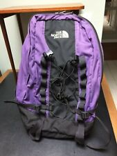 The North Face Purple Nylon Hiking Back Pack Waist Band Dual Zip