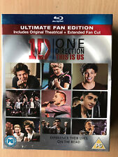 1D ONE DIRECTION : This Is États-Unis ~2013 CONCERT FILM Blu-Ray W/housse