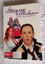 THE CATHERINE TATE SHOW- SERIES ONE AND TWO (DVD, 2-DISC BOX SET) R-4, LIKE NEW
