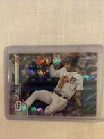 Victor Reyes 2020 Topps Chrome Prism Refractor Detroit Tigers