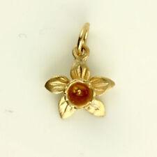 Collares y colgantes de joyería de metales preciosos sin piedras de oro rosa oro