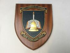 More details for vintage new scotland yard anti - terrorist branch police plaque shield