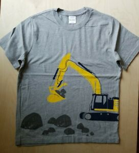 NWOT HANNA ANDERSSON  CONSTRUCTION TRANSPORTATION SHORT SLEEVE  TEE SHIRT 140 10