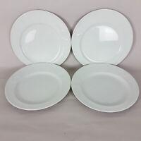 "Rosenthal Asymmetria Germany Dinner Plates Set of 4 White 10 1/2"" 8905"