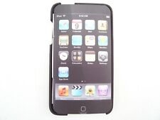 BELKIN IPOD TOUCH 2G 3G CASE COVER BLACK MATT POLYCARBONATE HARD SHELL PLASTIC