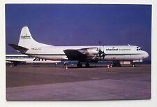 Channel Express Lockheed L-188CF Postcard