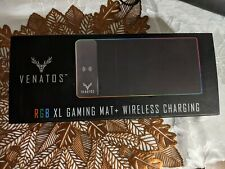VENATOS XL Mouse Pad With Integrated Phone Charger
