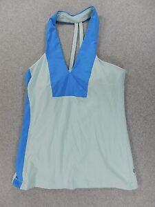 LuLuLemon Yoga Running Training Tank (Womens Size 8) Blues