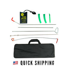 Full Professional Car Lockout Kit - Easy Entry Long Reach Grabber 10 Pc Set