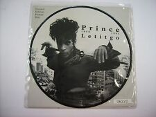 """PRINCE - LET IT GO - 7"""" PICTURE DISC NEW UNPLAYED 1994"""