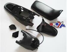 New YAMAHA PW 50 Plastics Plastic Kit Tank Seat Front & Rear Fender Black