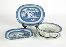 Chinese Export Blue and White Porcelain Canton Lot 50