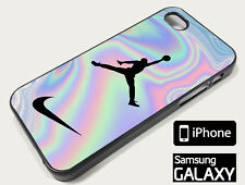 Air Jordan Nike Holographic NEW! iPhone X XR XS MAX 8 7 6 5 Samsung S9 Plus Case