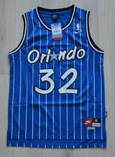 BNWT Shaquille O'Neal Orlando Magic NBA Blue Men's Jersey Size S