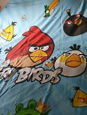 Children's reversible Angry Birds Quilt Devet Cover preowned bright
