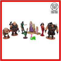 Disney Tangled Rapunzel Figure Set Bundle Job Lot 9x Cake Toppers PVC Playset