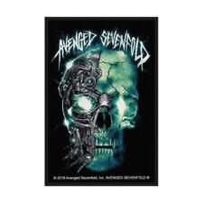 OFFICIAL LICENSED - AVENGED SEVENFOLD - BIOMECHANICAL WOVEN SEW-ON PATCH METAL