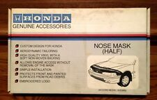 GENUINE HONDA ACCESSORIES NOSE MASK '94 ACCORD 08P35-SV4-100F NOS EMBROIDERED