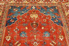 MINT AUTHENTIC AMERICAN KARASTAN TURKISH CHURCH PATTERN #553 RUG CARPET 5.7x8.8