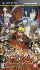 USED PSP Naruto Shippuuden: Narutimate Impact Japan Import game soft
