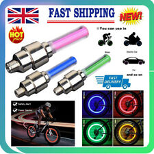 Waterproof Led Wheel Lights Tyre Valve Cap Wheel Tire Light Motorcycle Bicycle A