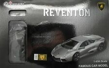 Pro-Team 1:43 Lamborghini Reventon Silver Self Assembly Car Model Modelling Kit