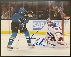 TOMAS HERTL signed SAN JOSE SHARKS 8x10 PHOTO 1 ~COA
