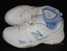 NEW BALANCE WHITE SNEAKERS WX409WL2 Cross Train Shoes 9.5B or 9W