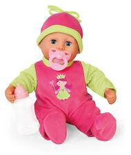 First words Baby Puppe 38 cm Funktionspuppe Schnuller Flasche von Bayer 93806