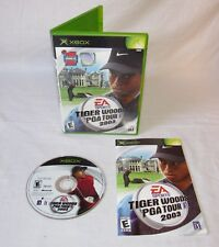 Tiger Woods PGA Tour 2003 (Microsoft Xbox, 2002) Complete, Tested