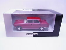 63660 Whitebox 124024 Peugeot 404 dunkelrot Modellauto 1:24 NEU in OVP