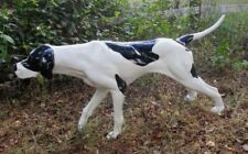 Pointer Hunting Dog Life Size Statue