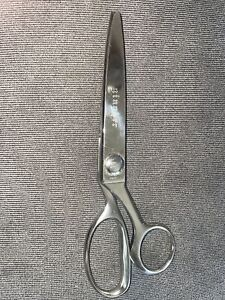 """Gingher Pinking Shears 7 1/2"""" Scissors Chrome Sewing"""