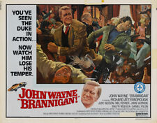 Brannigan John Wayne Richard Attenborough movie poster