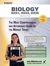 Praxis Biology 0231, 0233, 0235 Teacher Certification Study Guide Test Prep...