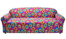 TIE DYE COVERS FOR SOFA COUCH LOVESEAT CHAIR RECLINER- STRETCHES FOR A TIGHT FIT
