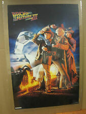 Vintage Back to the future llI 1990 movie poster 2058