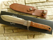 PUMA Messer TEC Jacaranda Outdoormesser Jagdmesser Huntingknife mit Lederscheide