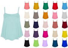 Damen-Trägertops Damenblusen, - tops & -shirts mit U-Ausschnitt für die Freizeit