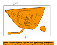 NISSAN OEM 16-18 Maxima-Backup Lamp Assembly Left 265454RA1A