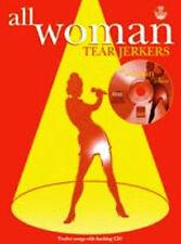 Libro De Mujer todos Tearjerkers/Cd Piano Guitarra vocales (PVG) Cancionero de música