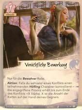 Legend of the Five Rings LCG - 1x #013 Verächtliche Bemerkung - Amaterasus Träne