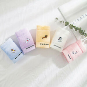 5 Pack Ultra Soft Extra Large Hand Towels,100% Bamboo Fiber Cotton