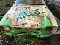 1969 Ford escort mk1 two door. amateur rally car, stolen recovered