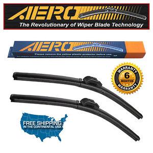 "AERO Cadillac CTS 2017 24""+18"" Premium Beam Windshield Wiper Blades (Set of 2)"