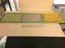 wargame terrain/scenery field set 10-15 mm Scale