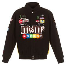 Authentic Kyle Busch JH Design M&M's Snap Black Cotton Jacket