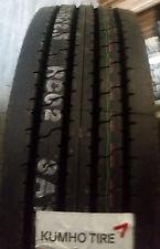 (4-Tires) 255/70R22.5 tires KRS02 A/P truck 16PR tire 255/70/22.5 Kumho 25570225